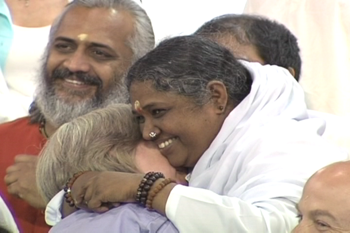Amma's hug