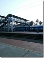 Railroad station India