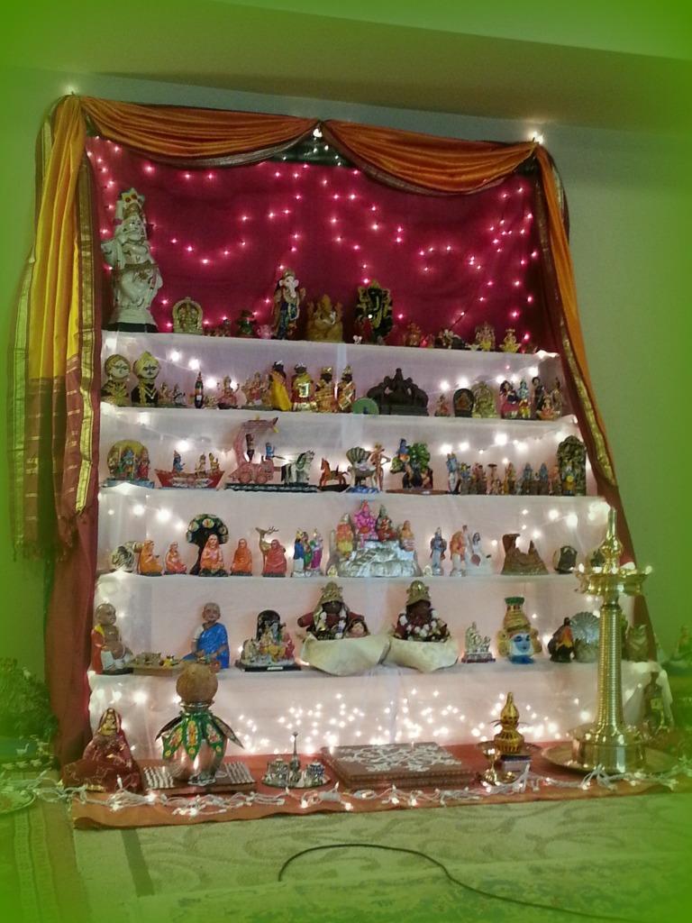 Diwali altar