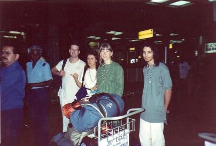Sreejit's fFirst trip to India