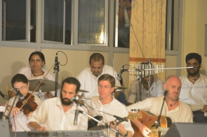Sreejit and other musicians