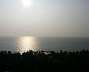 Setting sun 2