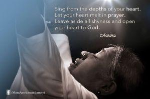 amma singing